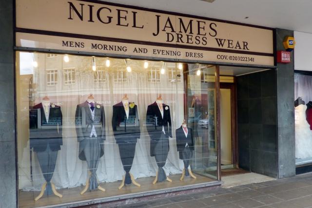 Nigel James Dresswear