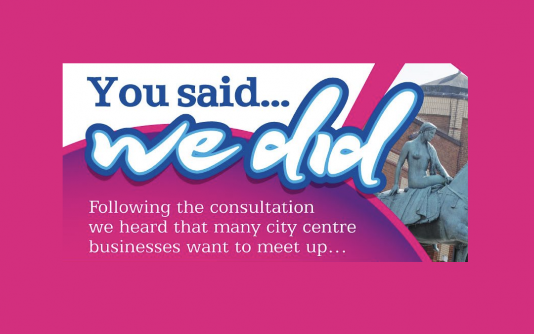 You said, we did: new business networking launches!