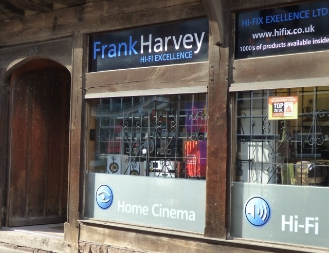 Frank Harvey Hi Fi Excellence