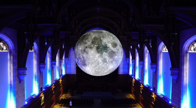 Museum of the Moon lands in Coventry