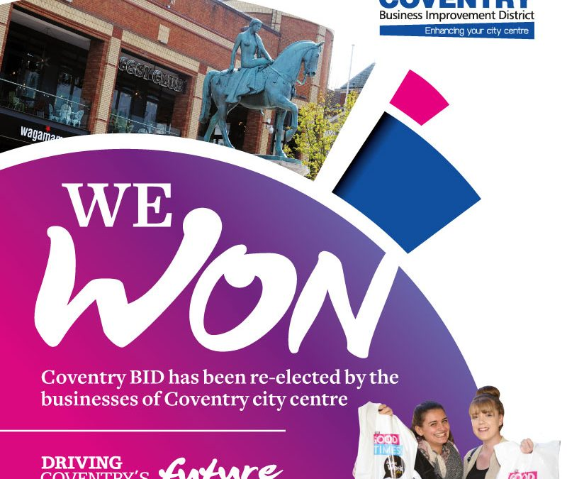 Coventry BID has a successful re-ballot