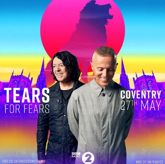 Tears for Fears added to BBC's The Biggest Weekend line-up