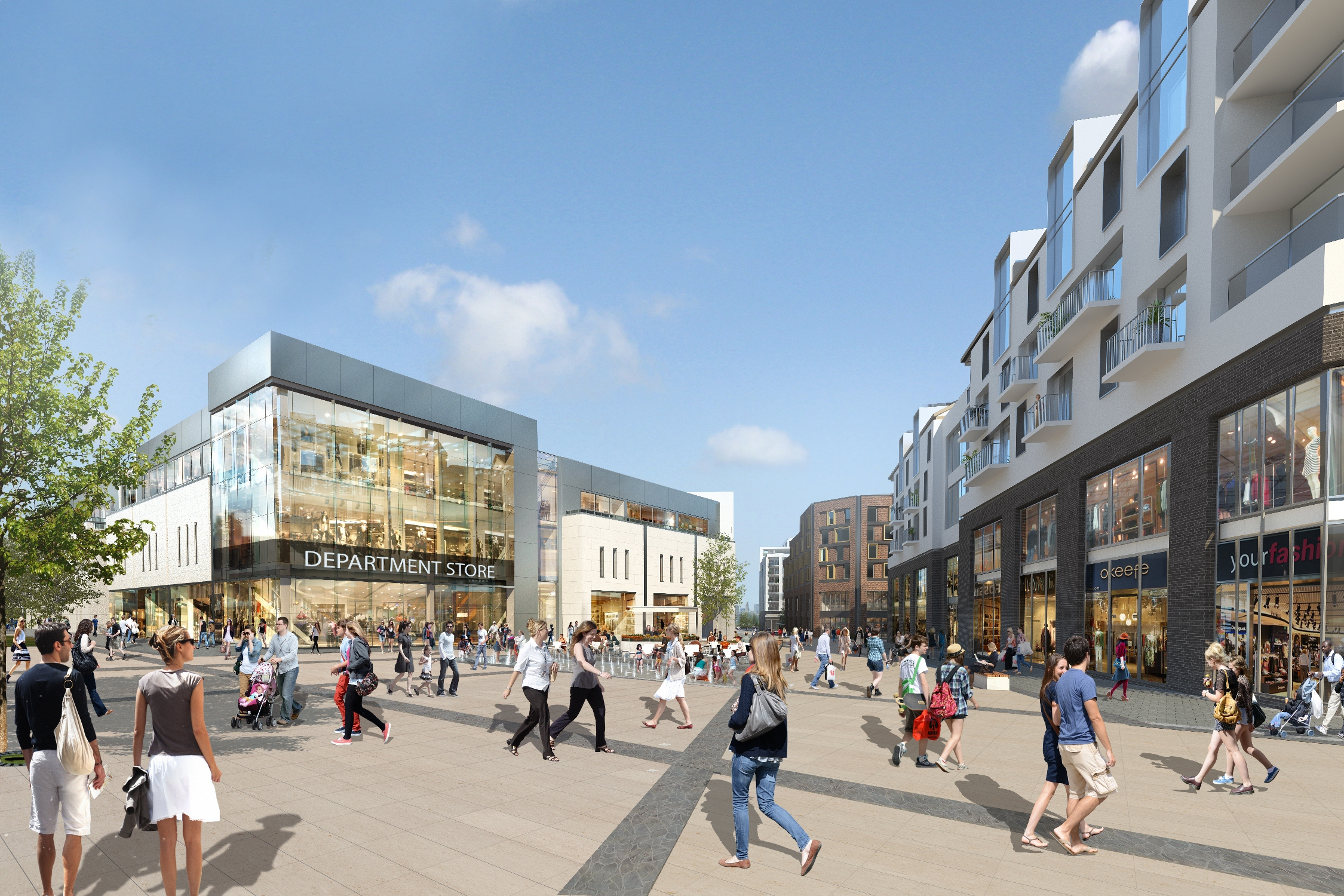 Dutch Square Mall >> City Centre South scheme set to test changing market ...