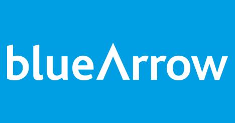 Blue Arrow