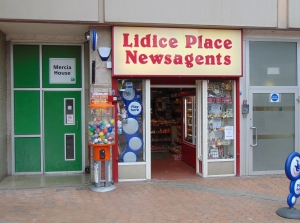 Lidice Place Newsagents