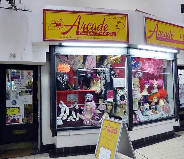 Arcade Fancy Dress