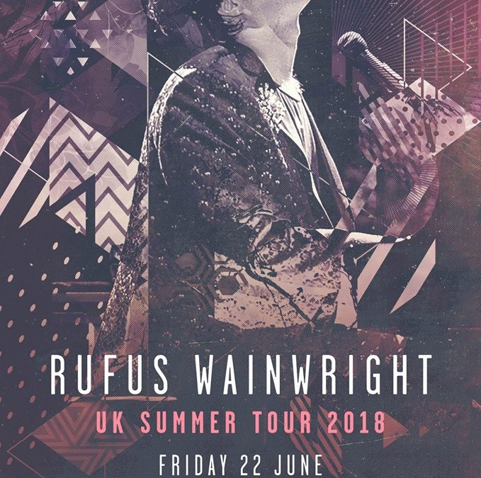 Rufus Wainwright at Coventry Cathedral22.06.18