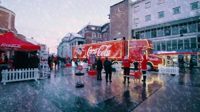 Coventry host Coca-Cola Truck