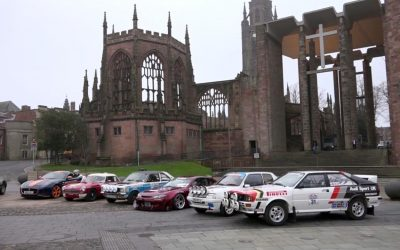 Competitive time trials for Coventry MotoFest