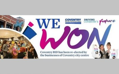 Coventry BID has a successful re-ballot