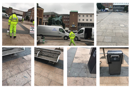 Coventry BID clean-up