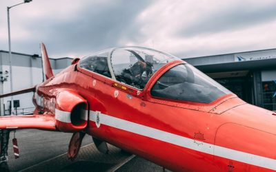 Flypast and Hawk – highlights of the RAF100 event