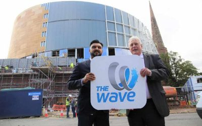 City centre waterpark to be called The Wave