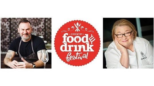 Headline chefs for Coventry Food and Drink Festival announced
