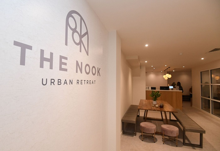 The Nook Urban retreat and yoga bar opens