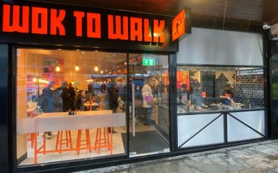 Hottest Show in Town, Wok to Walk, Fires up in Coventry