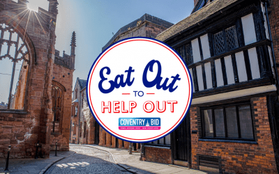 Eat Out to Help Out in Coventry City Centre