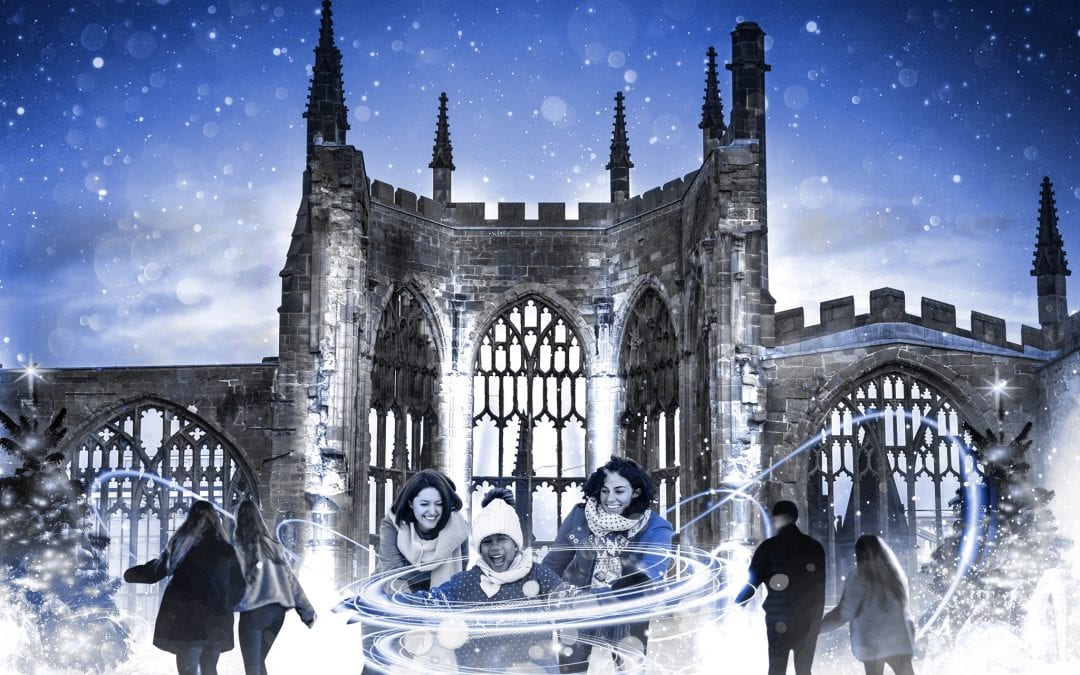 Coventry Glides – a magical ice rink in the ruins of Coventry Cathedral