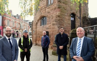 Work has begun to transform Coventry's historic city gates