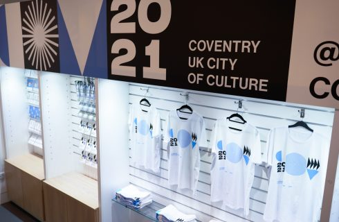 The first official Coventry 2021 merchandise has gone on sale