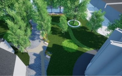 Work begins on Cathedral Unity Lawns